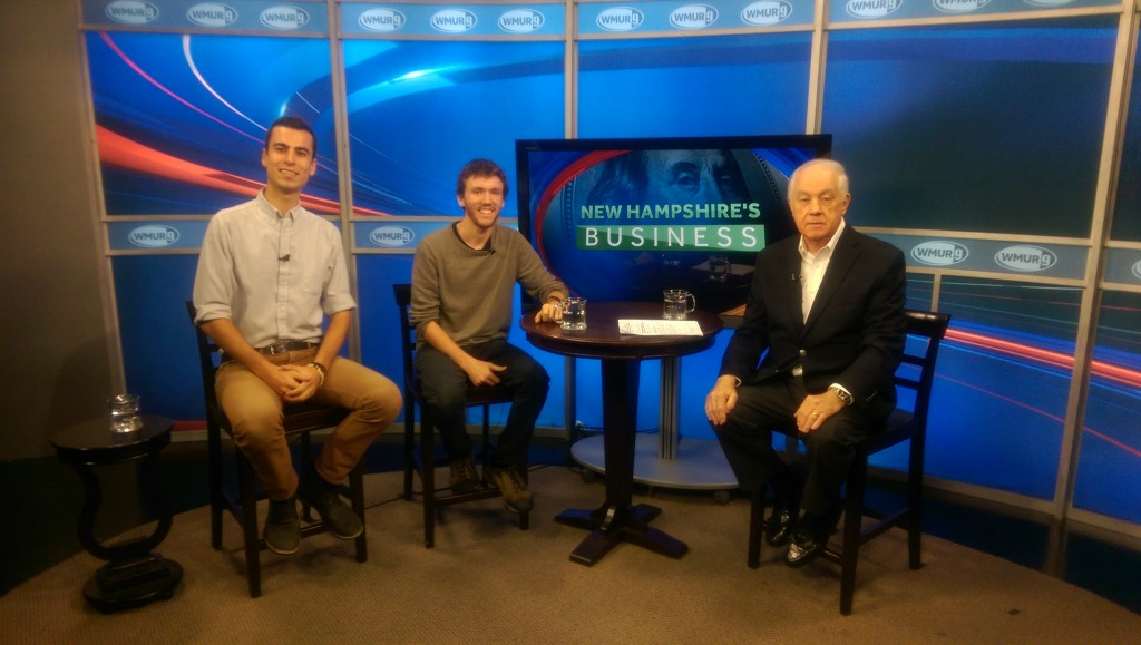 NH student startup recycles tons of student trash | WMUR