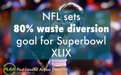 Phoenix takes Super Bowl XLIX toward Zero Waste