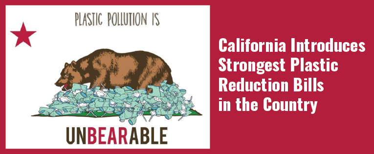 California Introduces Strongest Plastic Reduction Bills in the Country