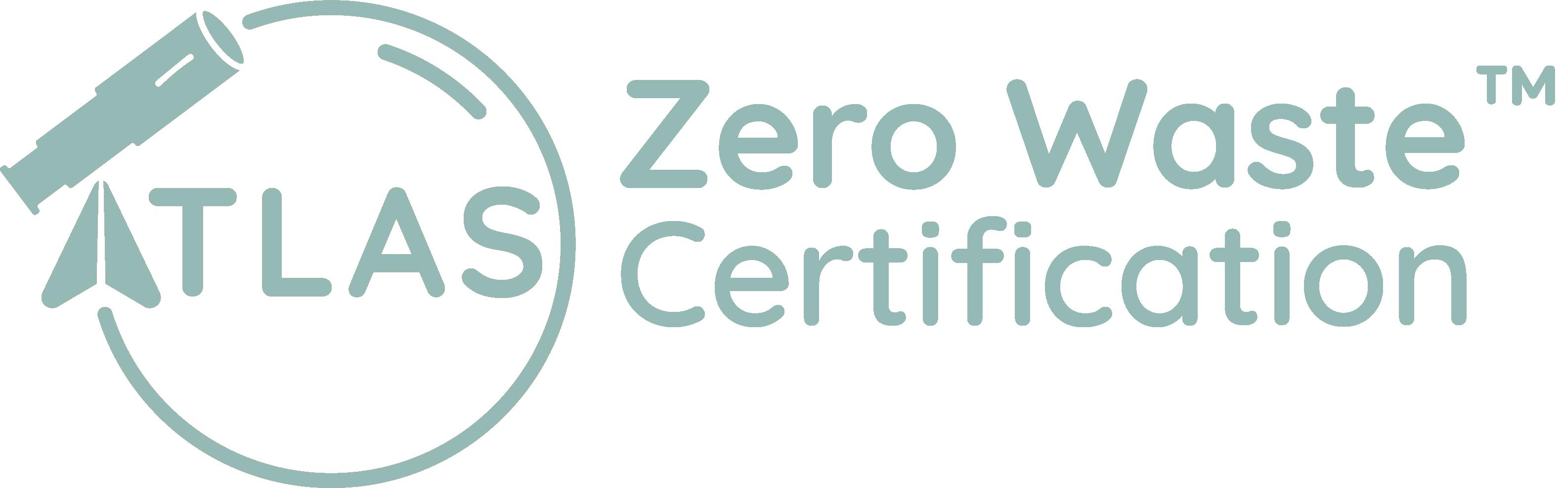Atlas Zero Waste Certification logo